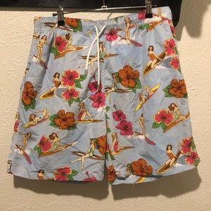 6fc1f6362594d Peter Millar Swim - NEW Peter Millar swim trunks-hula girls sz large